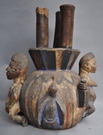 Old authentic tribal altar statue, YORUBA, Nigeria, ca. 1970