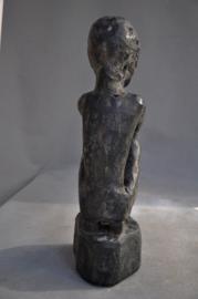 Antiek tribaal beschermingsbeeld van de IFUGAO stam, Filippijnen