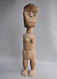 Big, old, feminine ancestor figure, VENAVI tribe, TOGO, approx. 1960