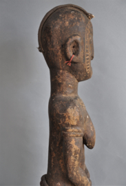 TOP! Zéér groot tribaal gebruikt beeld van de MOSSI, Burkina Faso, ca 1970