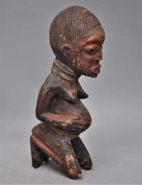 Vruchtbaarheidsbeeld van de YORUBA, Nigeria, 2e helft 20e eeuw