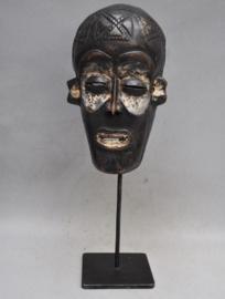 Older facial CHOKWE mask, D.R. Congo, approx. 1960