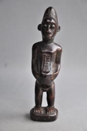 Vruchtbaarheidsbeeldje van de BAULE, Ivoorkust, 2e helft 20e eeuw