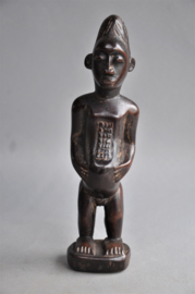 BAULE fertility statue, Ivory Coast, 2nd half 20th century