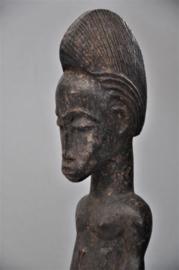 Blo lo bian figuur van de BAULE, Ivoorkust, ca 1960