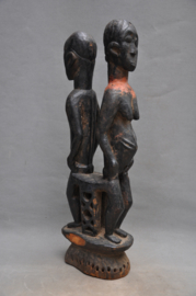 GREAT! Extremely rare, tribally used mask, EBIRA, Nigeria, approx. 1930