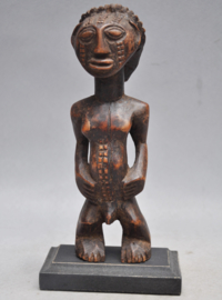 Subliem tribaal vruchtbaarheidsbeeldje, TABWA, DR Congo, ca 1930