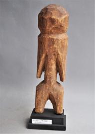 Hard houten LOSSO beeld van de MOBA stam uit Nrd Togo, ca. 1960