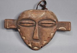 "Tribal ""PANYA NGOMBE"" mask, PENDE, D.R. Congo, approx. 1960"