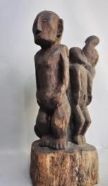 HUGE couple statue, IFUGAO, Luzon, Philippines, 2nd half 20th century