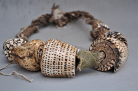 Akusan, schelpriem vd BONTOC, Luzon, Filipijnen, 2e helft 20e eeuw ( nr2)