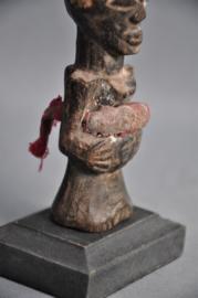 Oude authentieke tribale talisman, SONGYE, DR Congo, 1940-50