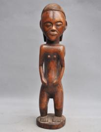 TOP! Oud vrouwelijk beeld van de TABWA, DR Congo, midden 20e eeuw
