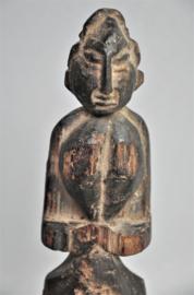 Oude talisman/altaarbeeld, Midden of Zuid India, midden 20e eeuw