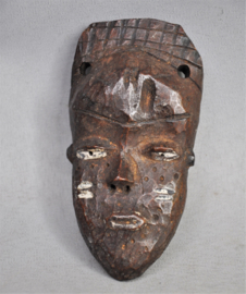 Mini passport mask, PENDE people, D.R. Congo, approx. 1950