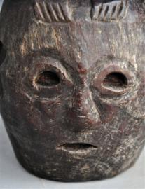 Zéér oud zeldzaam nara BULUL beeld, Ifugao, Filipijnen, 80 - 100 jaar oud