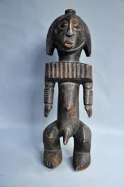 Aged medium-sized BOYO tribe statue, D.R. Congo, 1970-1980