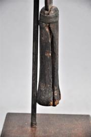 Oud ceremonieel zwaard van de POTO/NGOMBE, DR Congo, 1e helft 20e eeuw