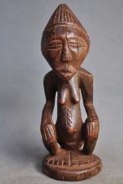 Oud voorouderbeeld van de LUBA stam, DR Congo, 1950 -60
