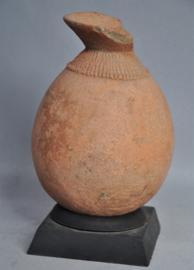 Terra cotta kruikje, BURA cultuur, Niger, leeftijd onbekend