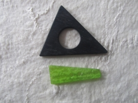 zwart/groene sluiting