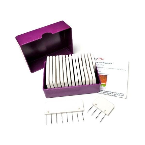 KnitPro Knit blockers doosje - 20 blockers
