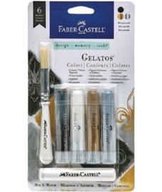 Faber Castell Gelatos - Pigment Sticks - Masquerade 4 st.