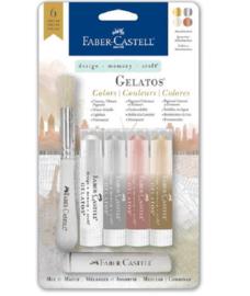 Faber Castell Gelatos - Pigment Sticks - Manhattan 6 st.