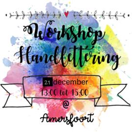 Workshop Handlettering Amersfoort 21 december 2019