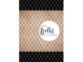 Bullet Journal / Art Journal boekje - Mijn Bullet Journal Zwart dotted
