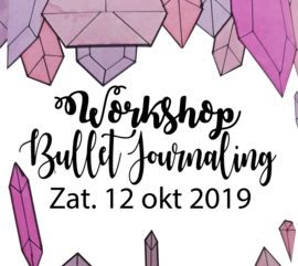 Workshop Bullet Journaling - Zaterdag 12 oktober 2019