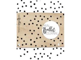 Bullet Journal / Art Journal boekje -Mijn Bullet Journal Black dotted
