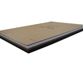Karton kraft gemixt 220 gram A4 formaat Joy!Crafts - 3x20 Vellen bruin, zwart, wit