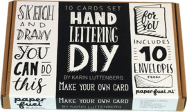 DIY Handletter Pakket Make your own Cards - Paperfuel