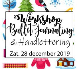 Workshop Bullet Journaling & Handlettering - Zaterdag 28 december 2019