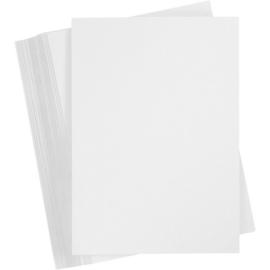 Karton wit 180 grams A4 formaat - 100 vellen