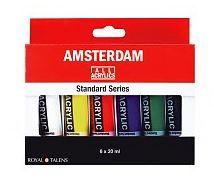 Acrylverf - Amsterdam - 6 tubes van 20 ml