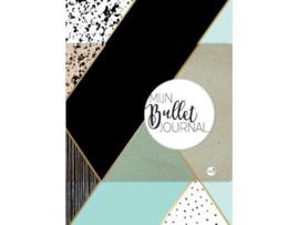 Bullet Journal / Art Journal boekje - Mijn Bullet Journal Mint en Goud dotted