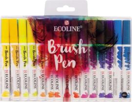 Brush pen Ecoline set - 30 stuks