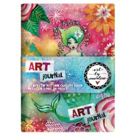 Art Journal / Bullet Journal boekje - Studio Light A5 ringband journal Art By Marlene 2.0