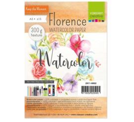 Watercolor Aquarelpapier 300g A5 wit Florence - 15 stuks