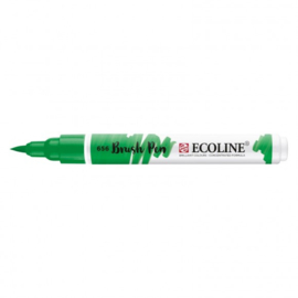 Brush pen Ecoline Woudgroen (656) - 1 stuk