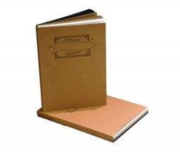 A4 Oefenblok Handlettering - Wit, Zwart, Kraft