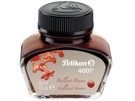 Inktpot - Pelikan 4001 - 30 ml - Bruin