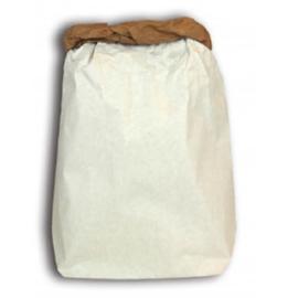 Papieren opbergzak  (paperbag) 40x60cm kraft wit