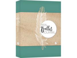 Bullet Journal / Art Journal boekje - Mijn Bullet Journal Feather dotted