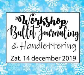 Workshop Bullet Journaling & Handlettering - Zaterdag 14 december 2019
