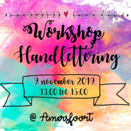 Workshop Handlettering Amersfoort 9 november 2019