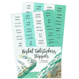 Bible Journaling Bijbel Tab stickers stippels ByKris