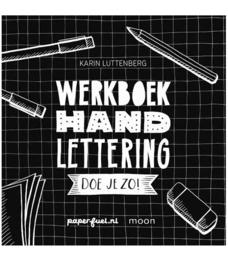 Werkboek Handlettering doe je zo! - Karin Luttenberg